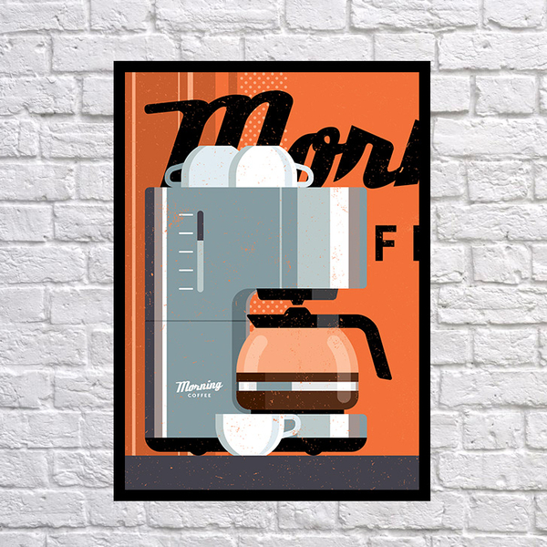 """Poster """"Coffee"""""""