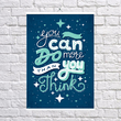 "Poster ""You can do"""