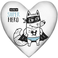 "Heart-pillow ""Super hero"""