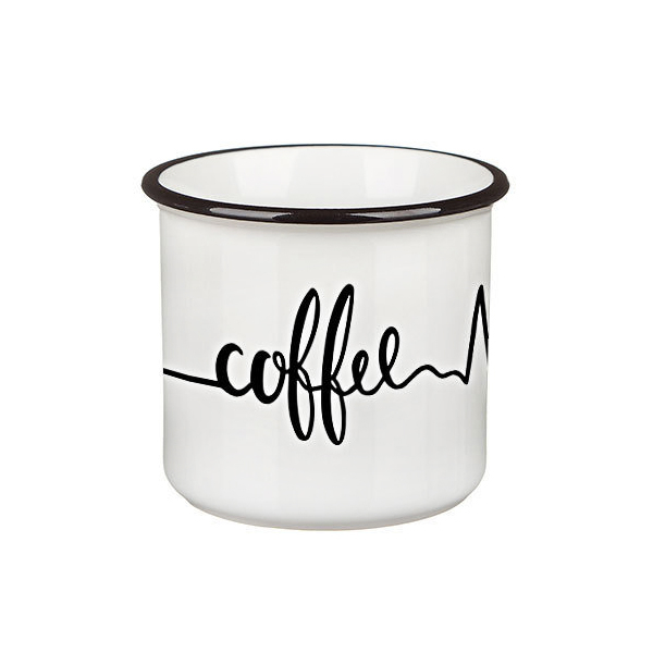 "Mug ""In the rhythm of coffee"""