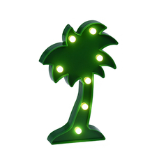 "Lamp ""Big green palm"""
