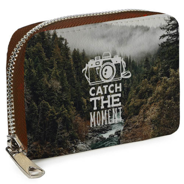 """Wallet mini  """"Catch the moment"""""""