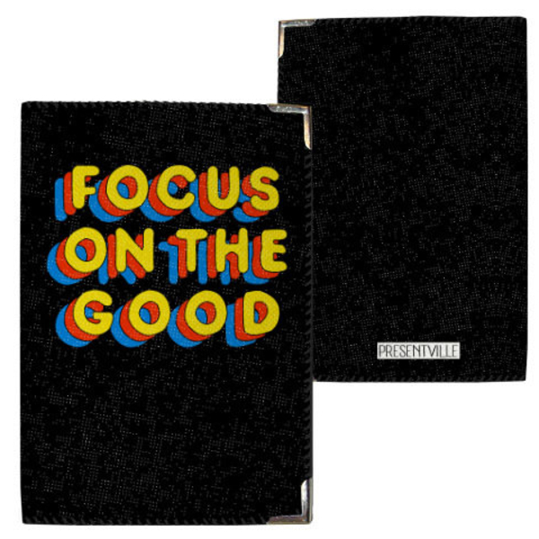 "Passport cover ""Focus on the good"""
