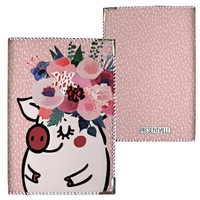 "Passport cover ""Mademoiselle"""