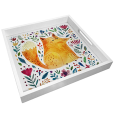 """Tray with handles """"Fox"""""""