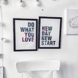 """Poster """"What you love"""""""