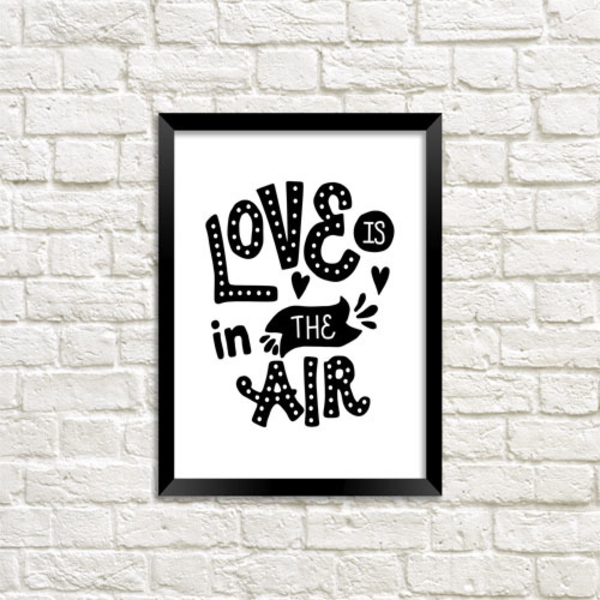 Poster - Love Is In The Air