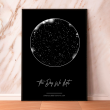 "Poster with your text ""Constellations"", A4"