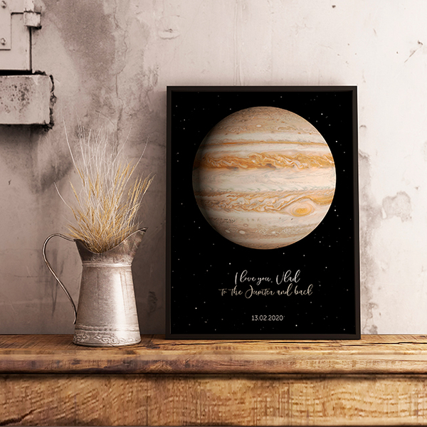 """Poster with your text """"Jupiter"""""""
