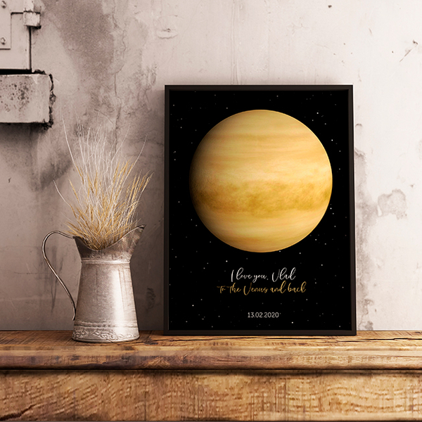 "Poster with your text ""Venus"""