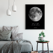 "Poster with your text ""Moon"""