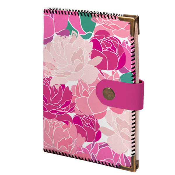 """Driver license cover """"Pink Flowers"""""""