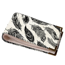 """Cardholder """"Feathers"""""""