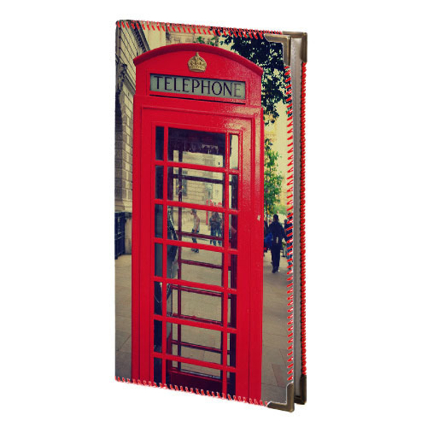 """Business card holder """"Telephone booth"""""""