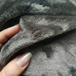 Blanket with sleeves made from microfiber, dark gray