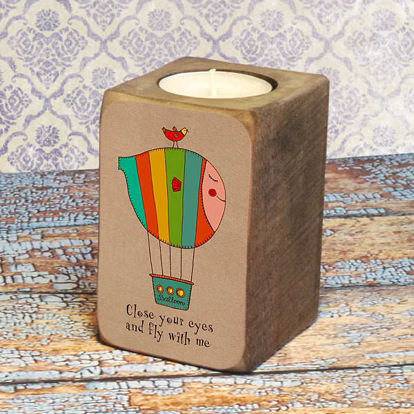 """Candleholder """"Fly with me"""""""