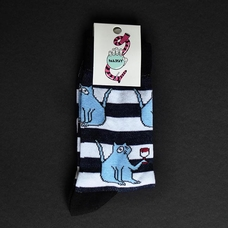 "Socks ""Strange сat"", Stripes"