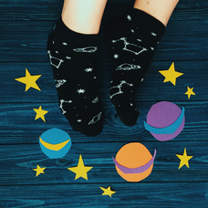 "Socks ""Space"""