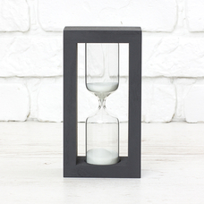 "Hourglass ""Black-White"" for 5 minutes"
