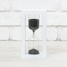 "Hourglass ""White-Black"" for 5 minutes"