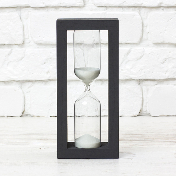 "Hourglass ""Black-White"" for 15 minutes"