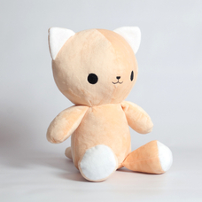 "Handmade toy ""Peach Kitten"""