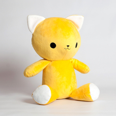 "Handmade toy ""Lemon Kitten"""