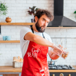 """Apron """"Cook yeah"""", red"""