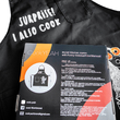 "Apron ""Cooking Ninja"", black"