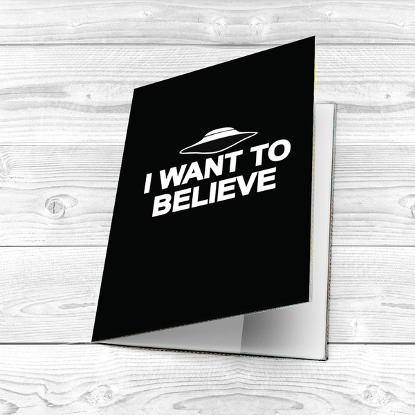 """Passport cover """"I want to believe"""""""