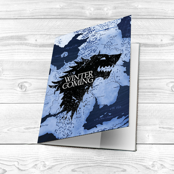 "Passport cover ""Winter is coming"""