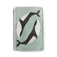 """ID card cover """"Whales"""""""
