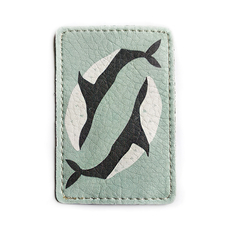 "ID card cover ""Whales"""