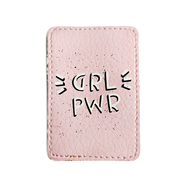 """ID card cover """"Girl power"""""""