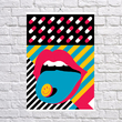 """Poster """"Lips"""""""
