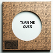 "Plate ""Turn me over"""