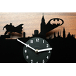 Vinyl Clock - Batman in the City