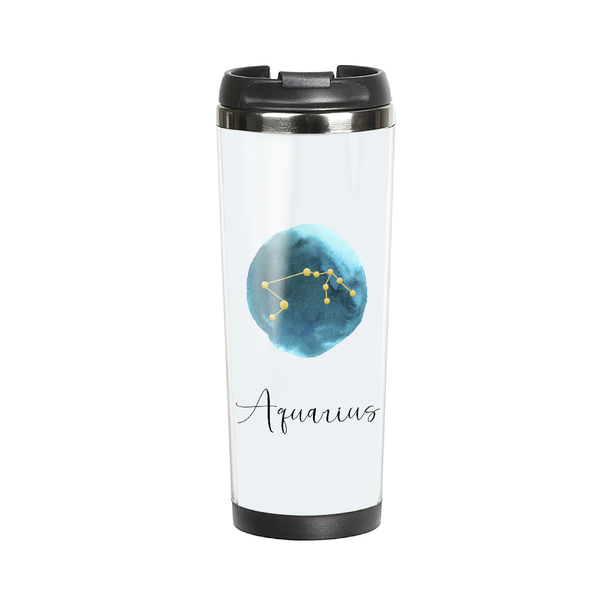 "Thermal mug with your text ""Horoscope"""