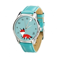 "Wristwatch ""Little Fox""  (+ spare strap)"