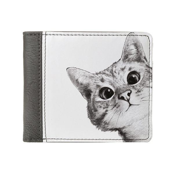 "Wallet ""Hey, cat!"""