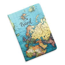 "5-in-1 Document Organizer ""Travel Map"""