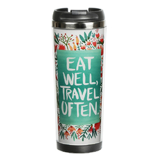 "Thermal mug ""Travel often"""