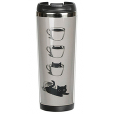 """Thermal mug """"Cat in a Cup"""""""