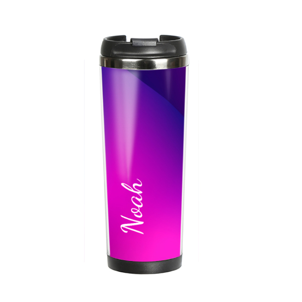 """Thermal mug with your text """"Morepink"""""""