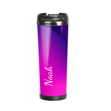 "Thermal mug with your text ""Morepink"""