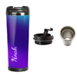 """Thermal mug with your text """"Purple"""""""