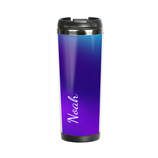 "Thermal mug with your text ""Purple"""