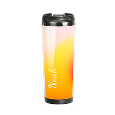 "Thermal mug with your text ""Tropic"""