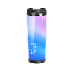 "Thermal mug with your text ""Heavenly"""