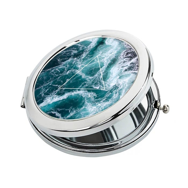 "Pocket mirror ""Ocean"""